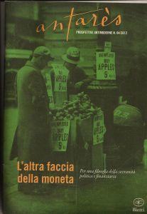 Copertina del n° 4/2012 della Rivista Antarés