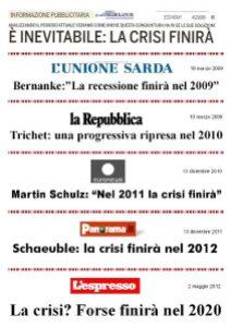 rassegna stampa sulla crisi